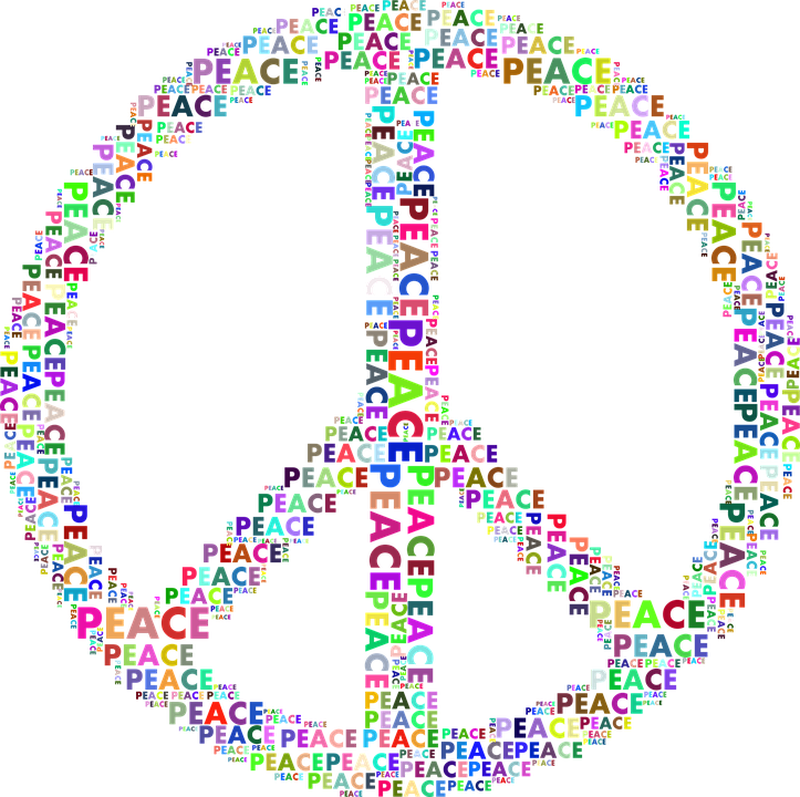Peace Sign Symbol Free Vector Graphic On Pixabay