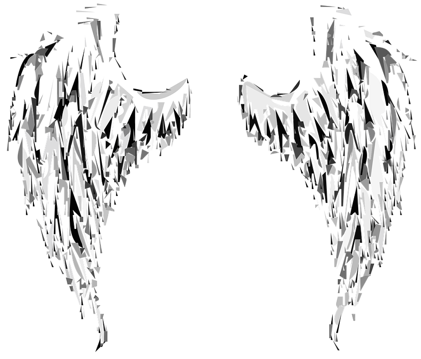 Gambar Angel Heart: Angel Wings · Free Vector Graphic On Pixabay