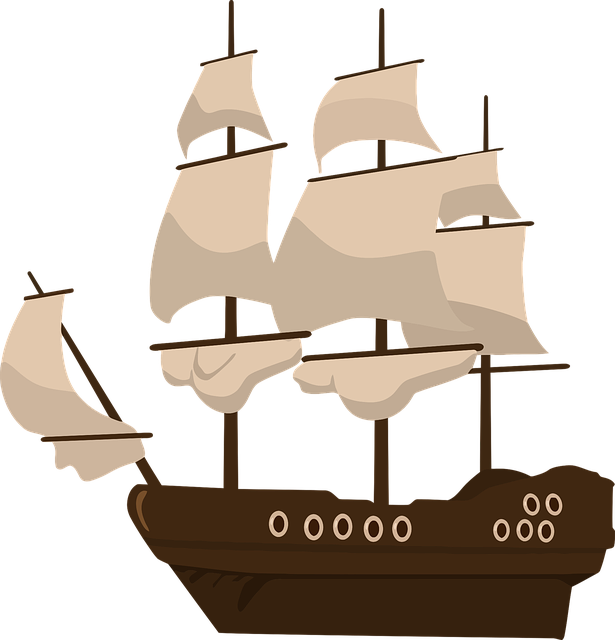 Pirate Ship Pirates · Free vector graphic on Pixabay