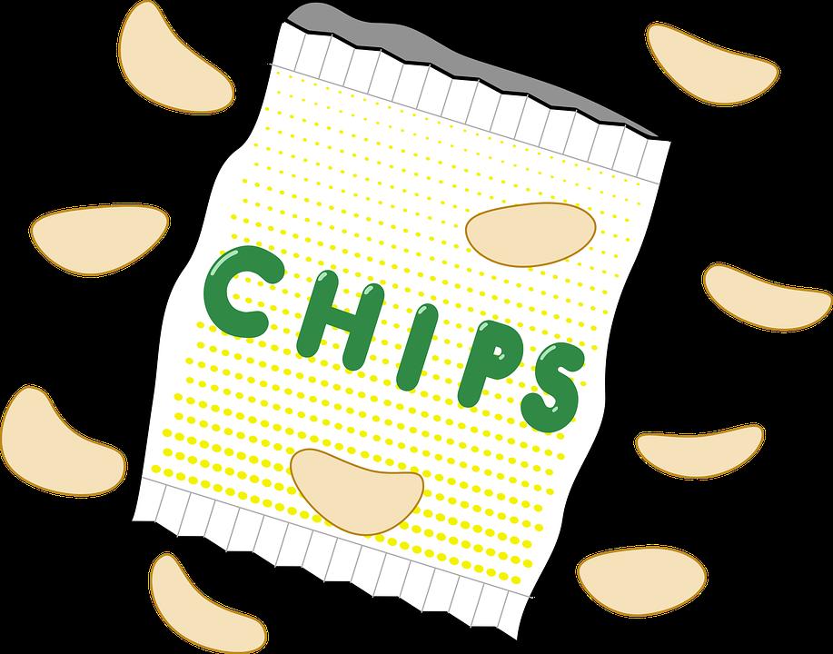 Bag, Chips, Crisps, Junk Food, Potato Chips, Snack