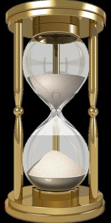 Relógio, Ampulheta, Tempo De