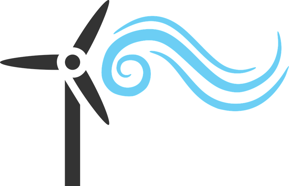 Wind Energy Renewable 183 Free Vector Graphic On Pixabay
