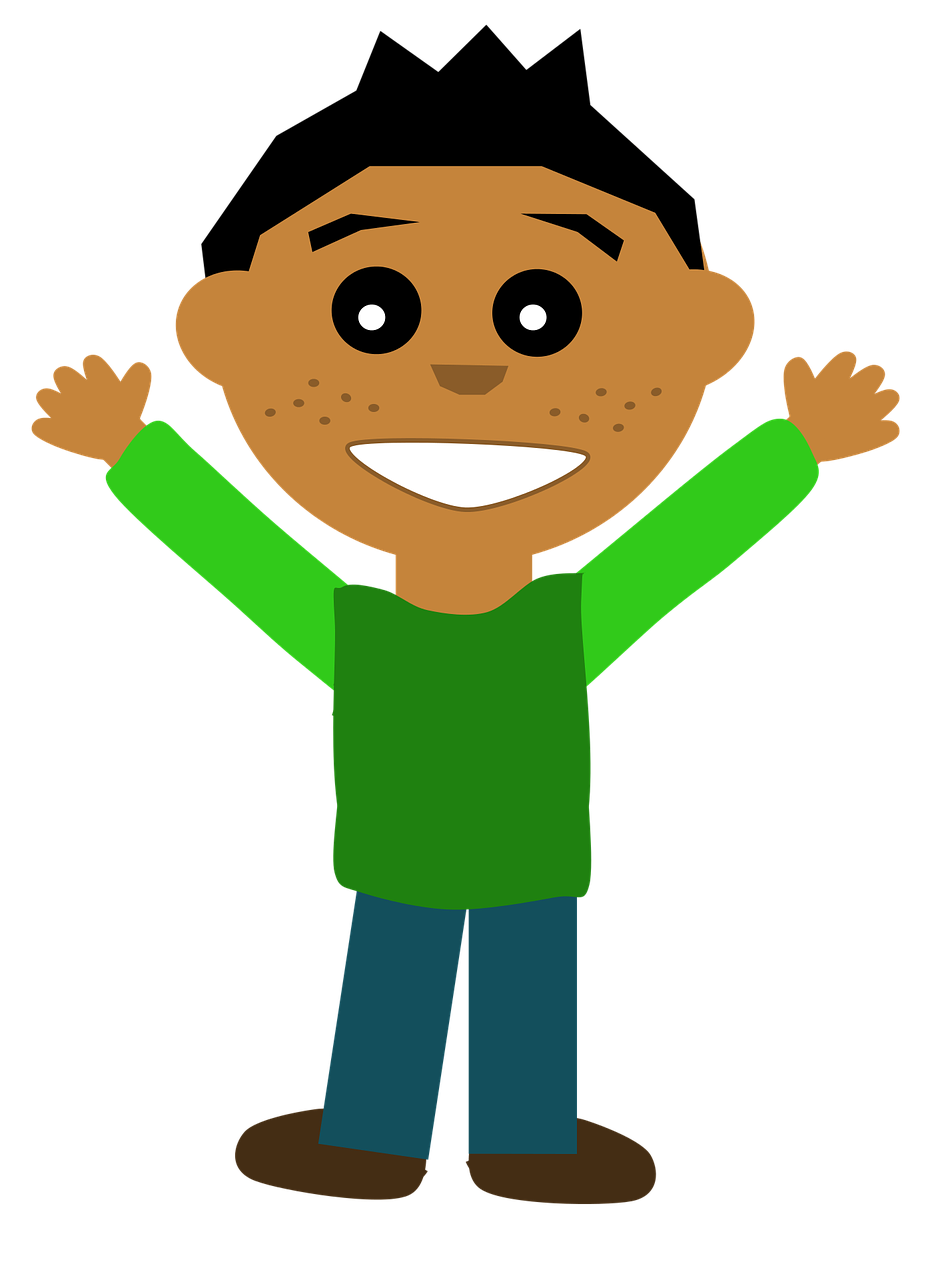 Comic Boy Cartoon Free Vector Graphic On Pixabay