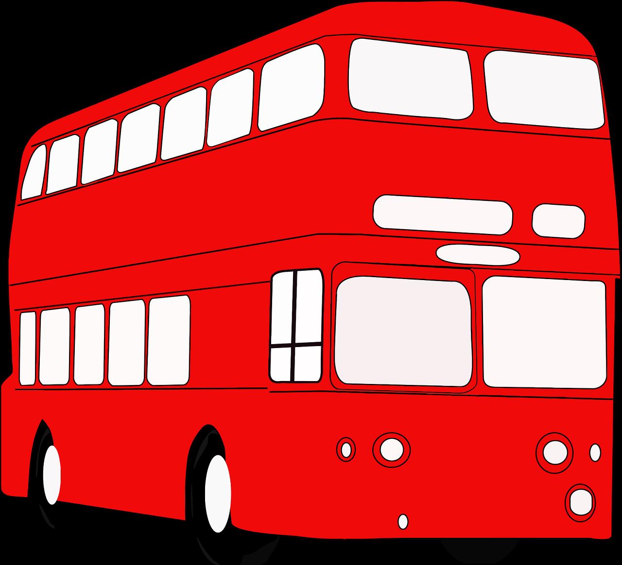British Bus Double Decker - Free vector graphic on Pixabay