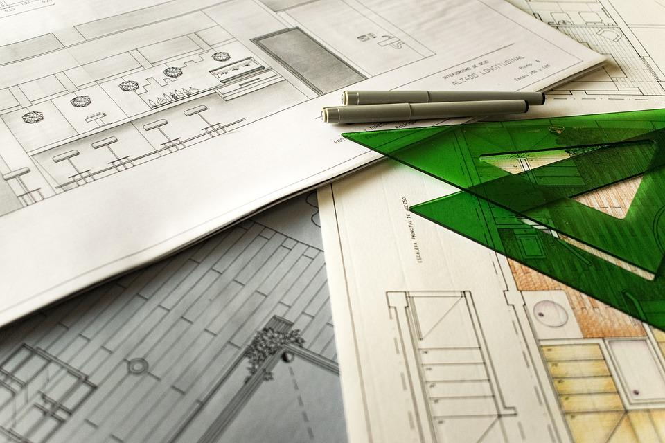 Dessin technique architecture projet règles autocad