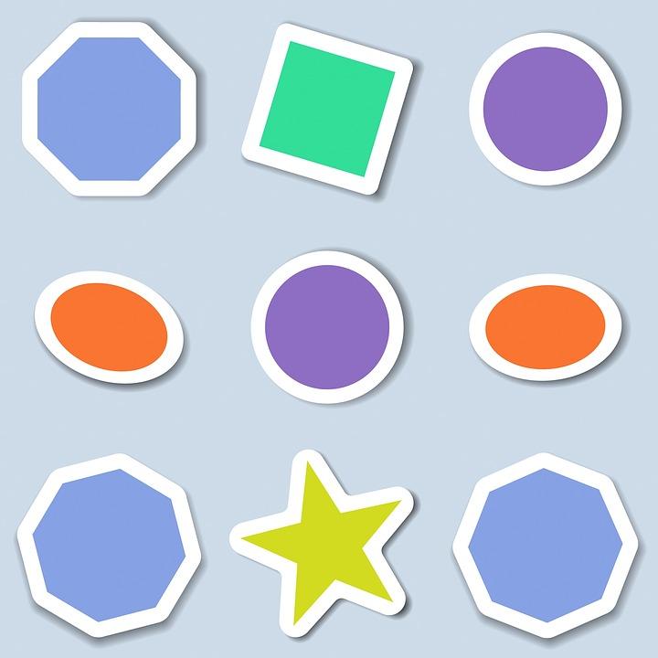 Icons Stickers Shapes - Free image on Pixabay