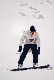 Snowboarder Snowboard Snow Winter Extreme