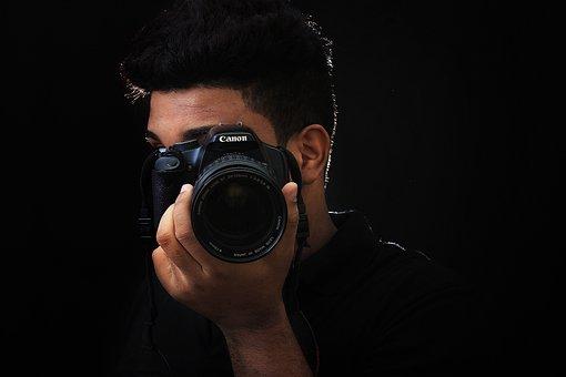 相机, 佳能, 摄影师, 反射, Pentax, 照片, 不同摄影, 筛选器