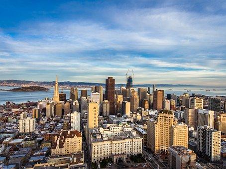 Panorámica de San Francisco, California, Estados Unidos