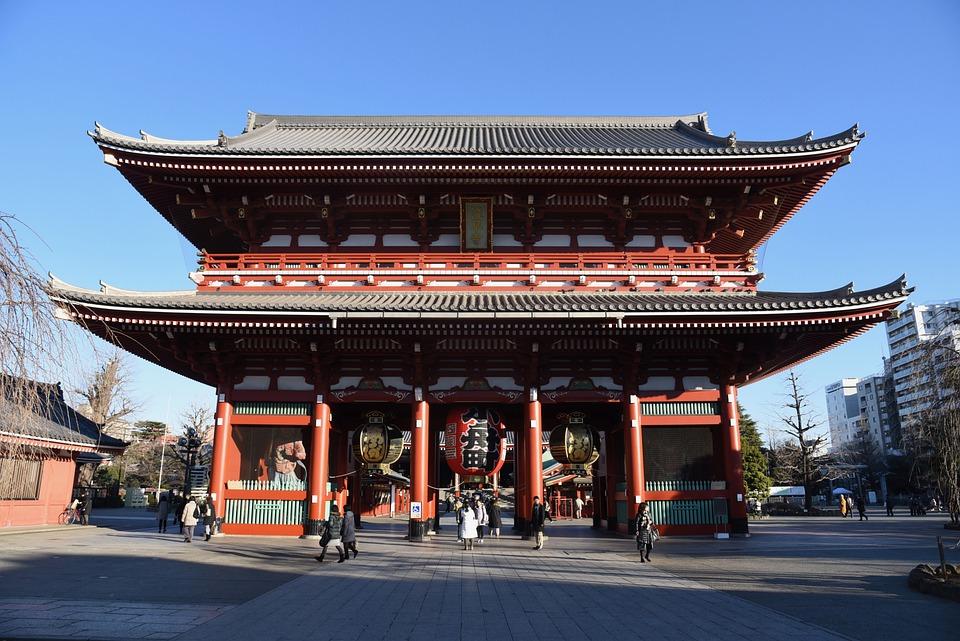 Sensoji, Tokyo, Japan, Temple, Asakusa