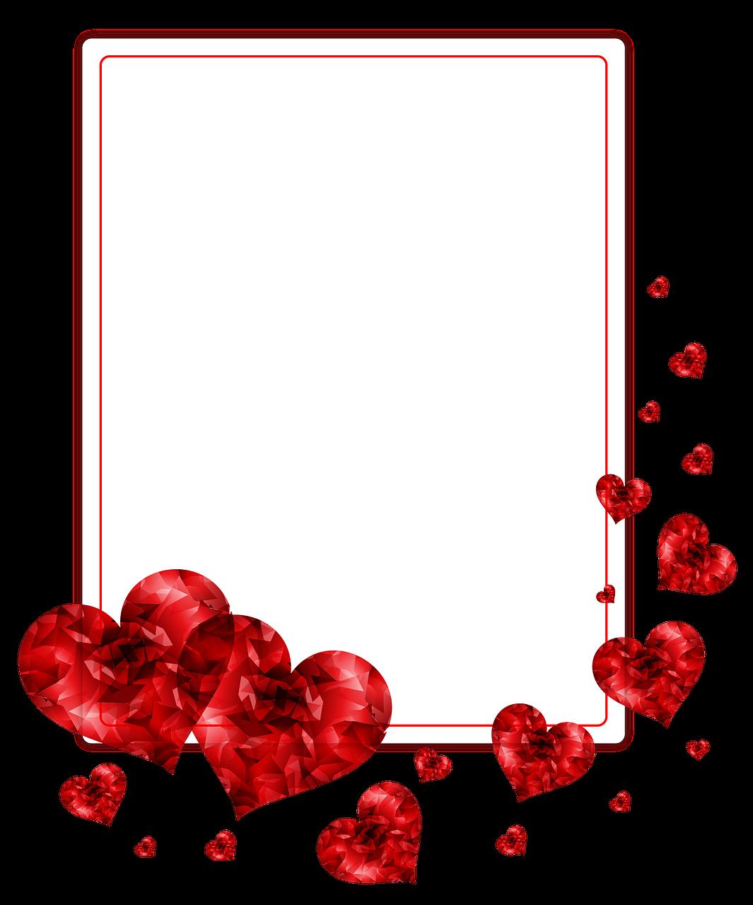 Открытка для фотошопа любовь