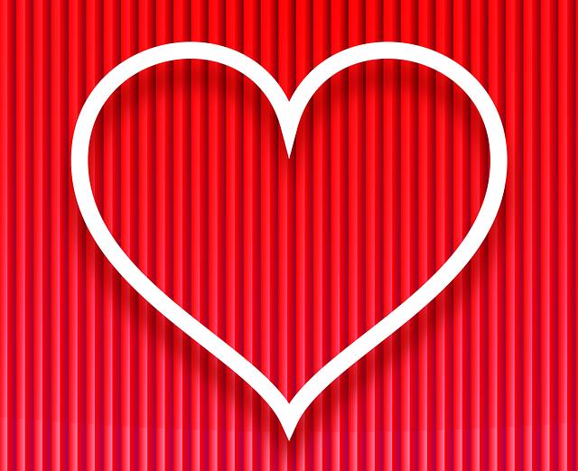 Картинки ровного сердечка