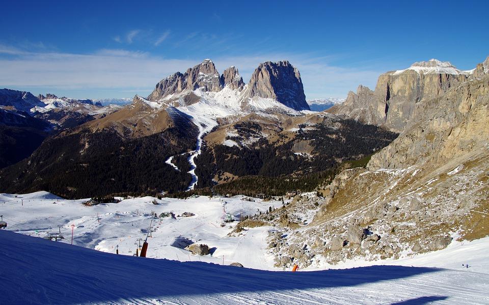 Arabba, Dolomites, Skiing, Dolomiti Superski