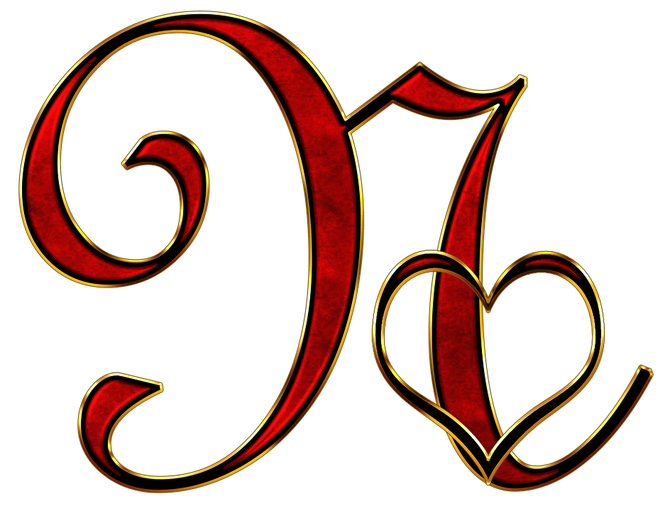 S Alphabet In Heart Alphabet Letter...