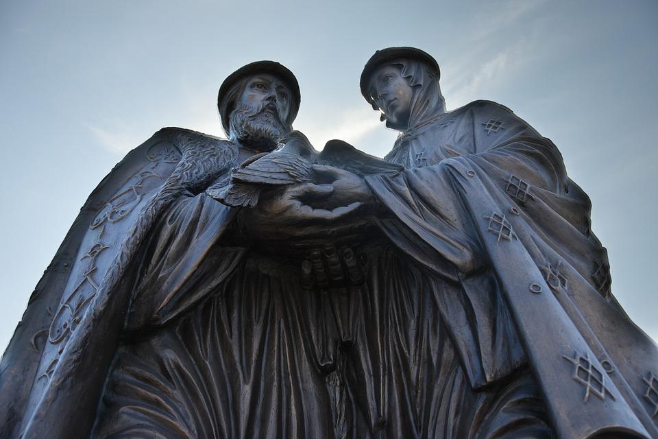 Астрахань Петр И Феврония Памятник - Бесплатное фото на Pixabay