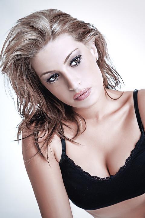 女の子, 肖像画, 人, 視線, 少女の肖像画, ブロンドの, 写真撮影, 髪, 唇, 図, モデル, 美容