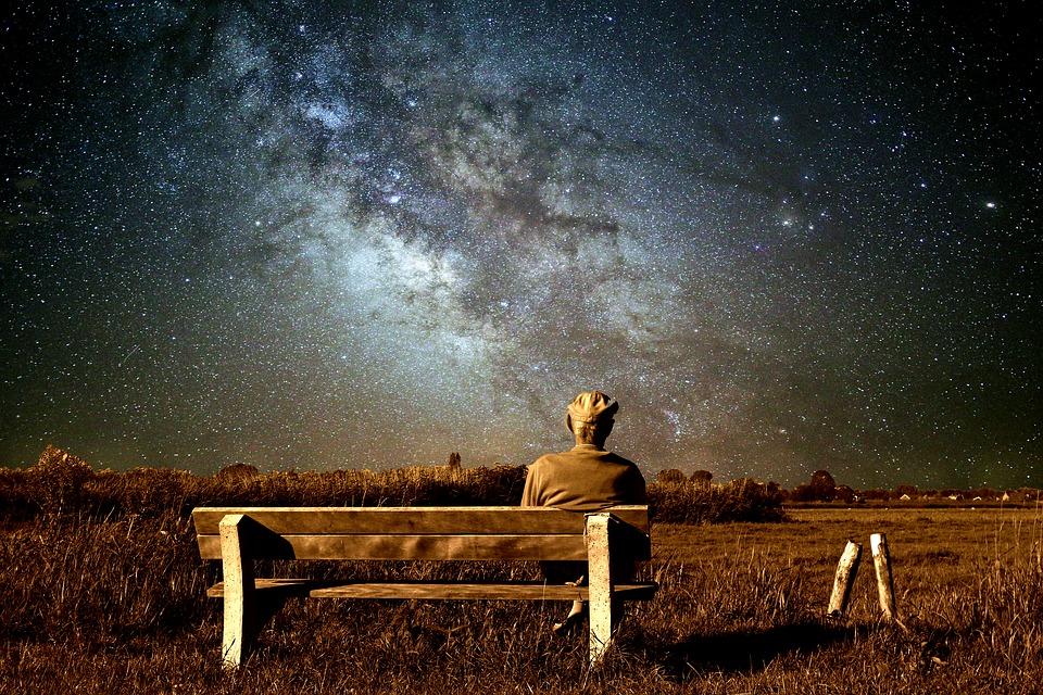 Starý Muž, Krajina, Mléčná Dráha, Příroda, Obloha
