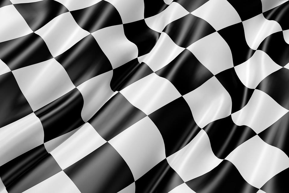race track flag black and free image on pixabay