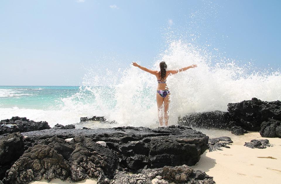 Free Photo Self Confidence Force Wave Sea Free Image