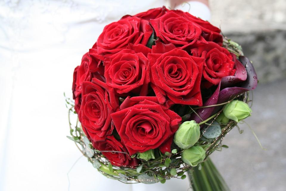 Rose Blumen Strauss Kostenloses Foto Auf Pixabay