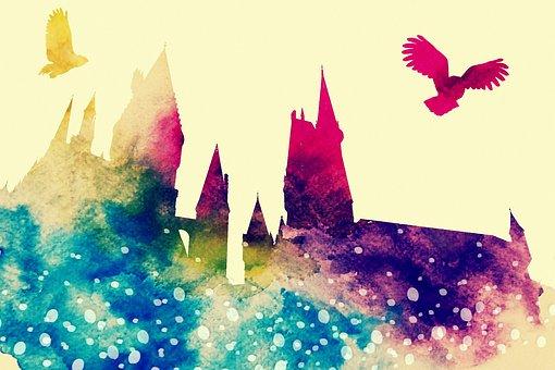 Hogwarts, Owl, Hedwig, Harry Potter