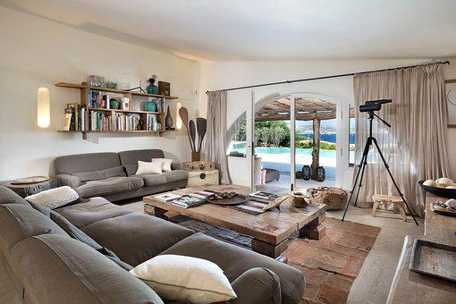 Living Room Loft Sardinia Relaxation Summe