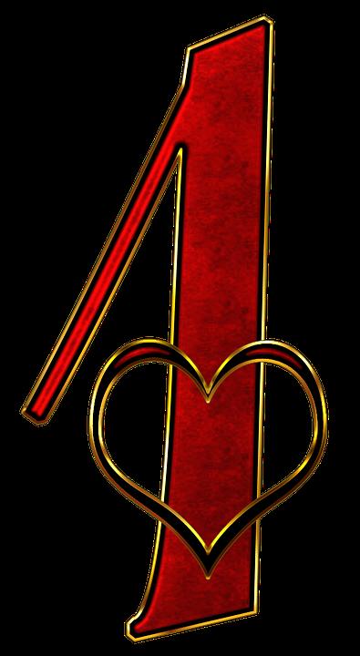 número 1 uma imagens grátis no pixabay