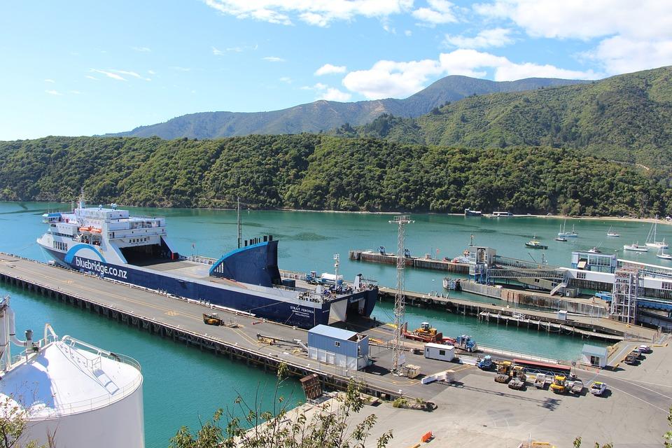 Bluebridge ferry covering the Wellington-Picton route