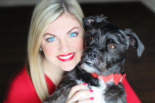 Pretty Girl, Valentines Day, Pup, Dog