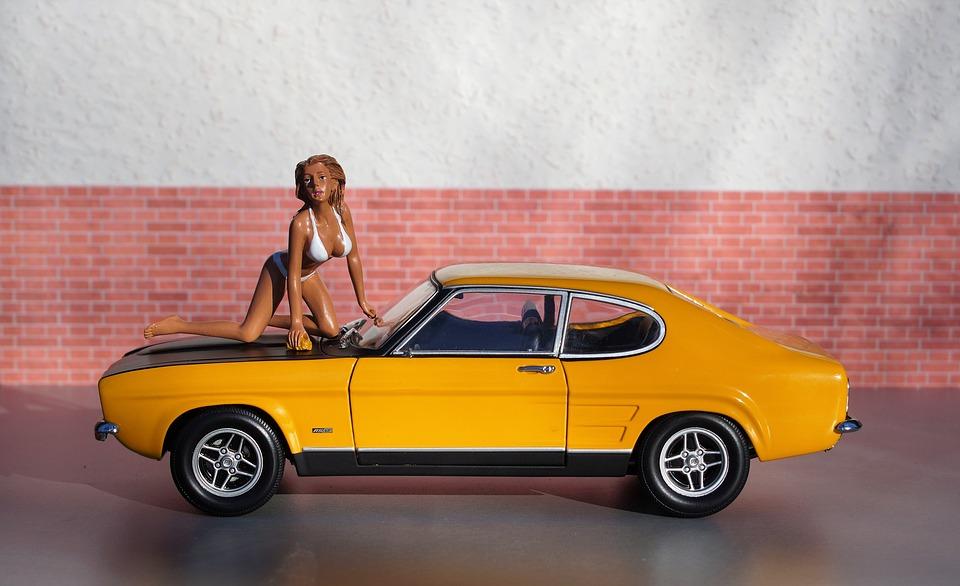 Image Of Old Model Car