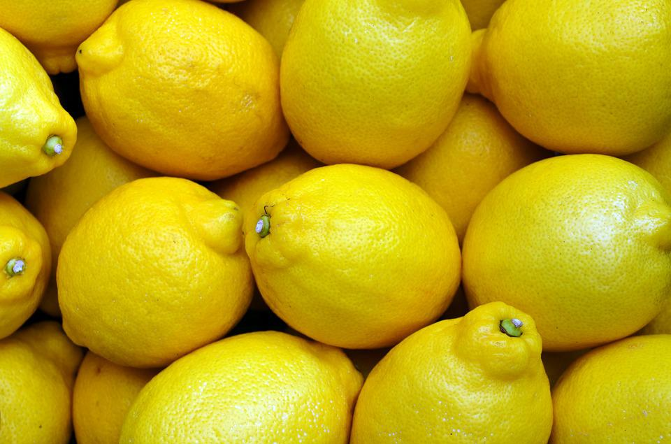 Free photo: Lemons, Yellow, Food, Fruit, Fresh - Free ...