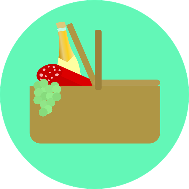 Picnic Blanket Eat 183 Free Vector Graphic On Pixabay
