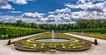 garden, park, castle
