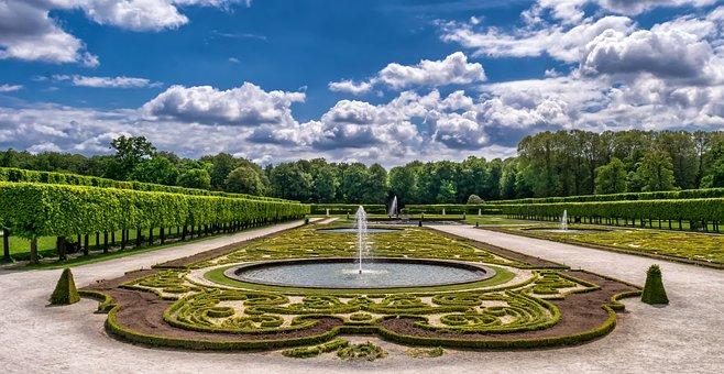 Garden Park Castle Art Horticulture Baroqu