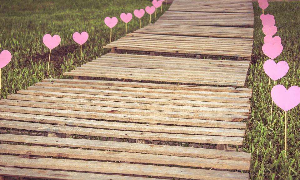 Path, Love, Future, Heart, Romanticism