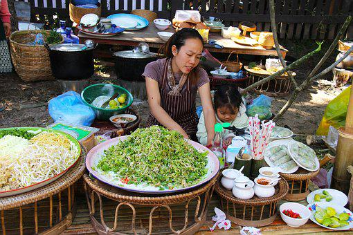 Authentic, Food, Vegetables, Fruits
