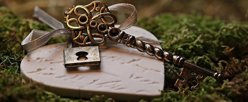 Love, Heart, Key, Castle