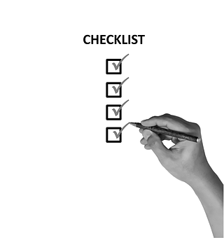 Checklist Check List Mark Reminder Ch