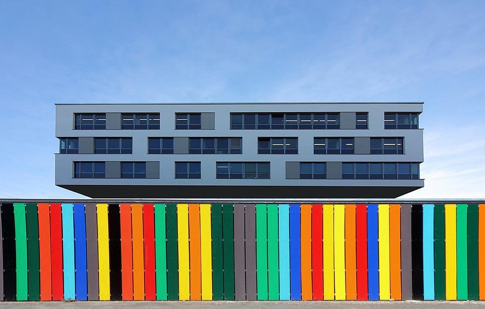 Budynek Biurowy Plot Fasada Darmowe Zdjecie Na Pixabay