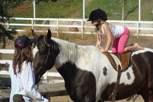 Learning To Ride, Horseback, Child