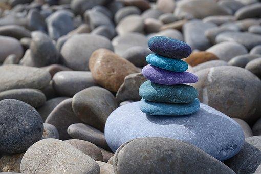 Pierres, Méditation, Zen, Balance, Solde