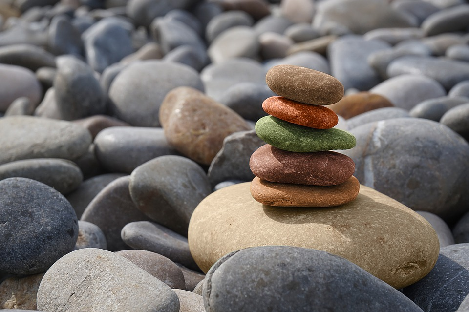 piedras meditacin zen equilibrio balance resto - Piedras Zen