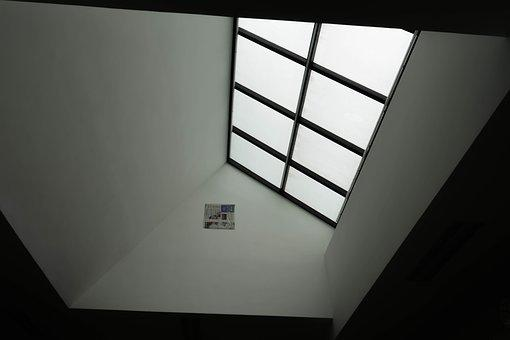Dormer, Black And White, Indoor