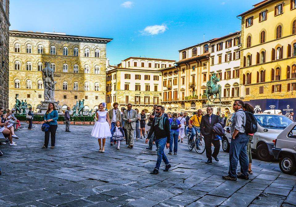 Très Photo gratuite: Florence, Mariage, Ville, Italie - Image gratuite  WL77