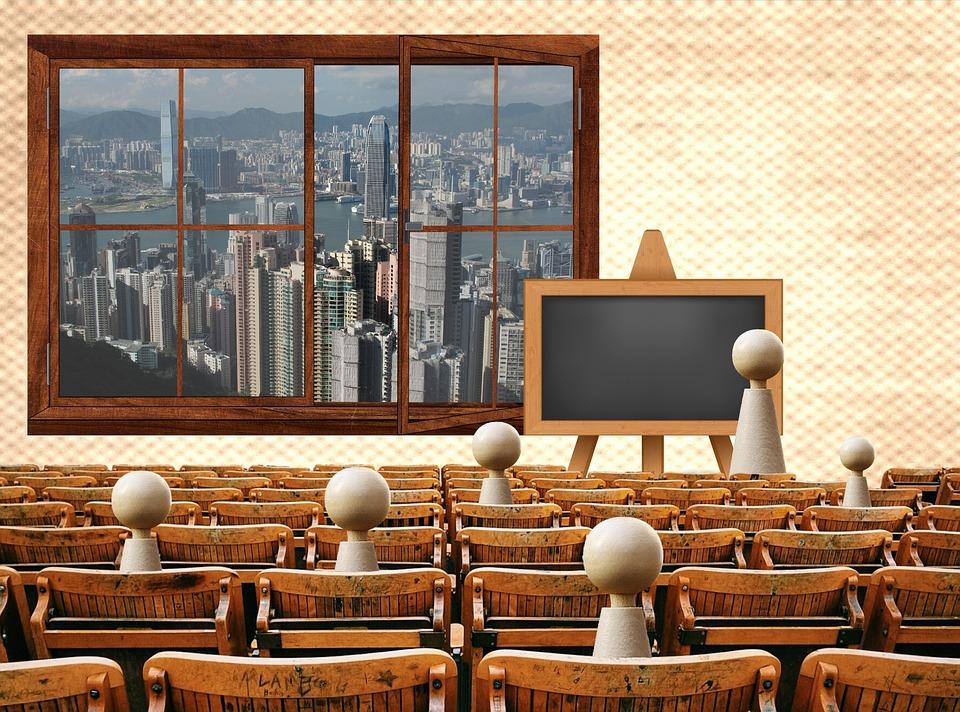 Wykład, Szkoła, Uniwersytet, Spotkanie, Grupy, Klasa