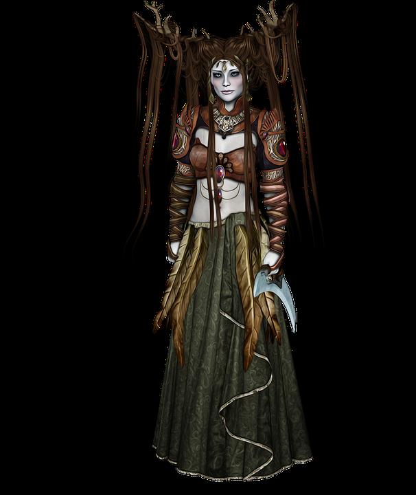 Elf Druid Fantasy - Free image on Pixabay