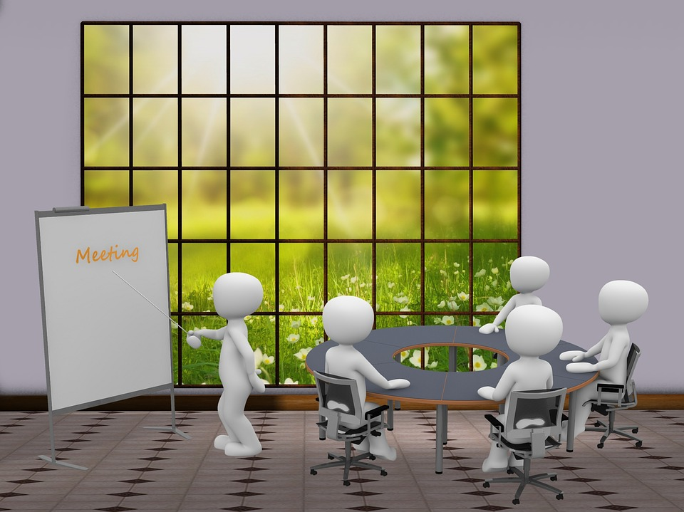 Team, Meeting, Lecture, Group, Team Meeting, Business