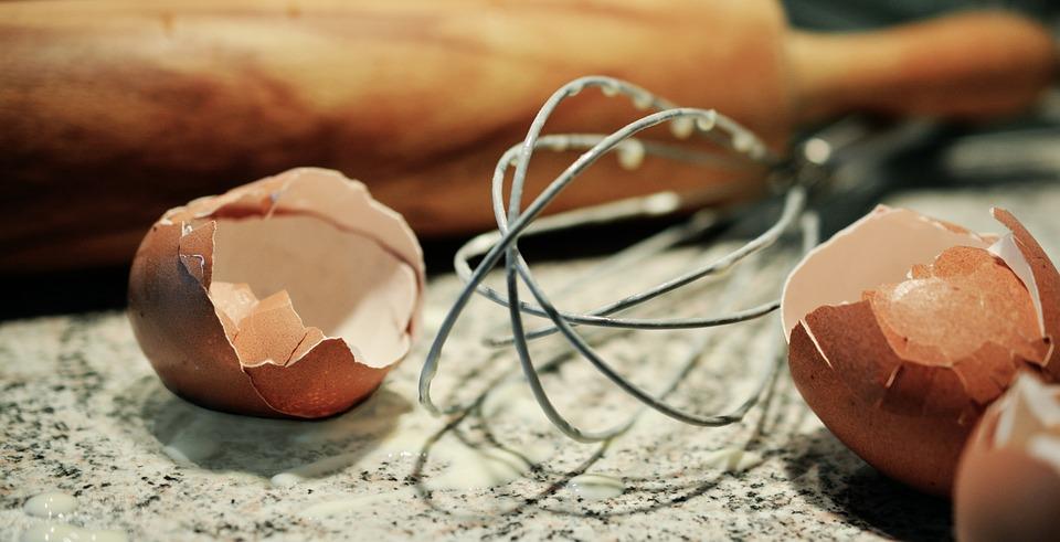 Backen Eierschalen Teig Kostenloses Foto Auf Pixabay