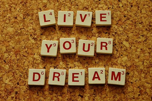 Live Your Dream Motivation Incentive Wishe