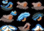 logo, bird, cute